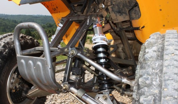 Works Performance A/T Steeler and QuadStar Shocks for the
