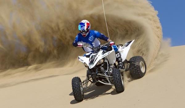 2012 Yamaha YFZ450 Test
