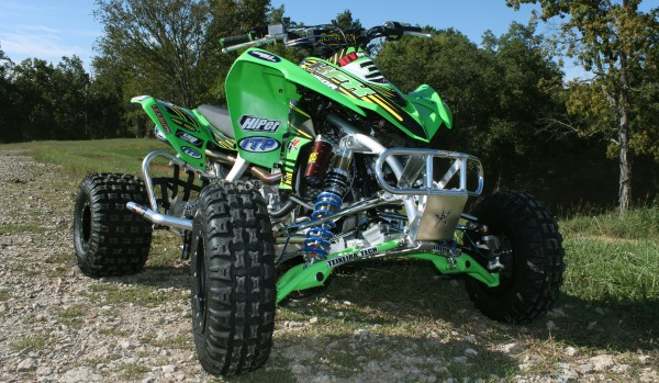 Kawasaki KFX450R Motocross Build