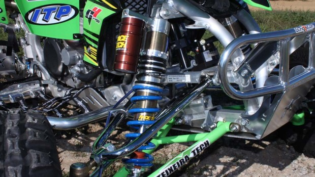 Race Tech GS-3 Custom ATV Suspension Test: