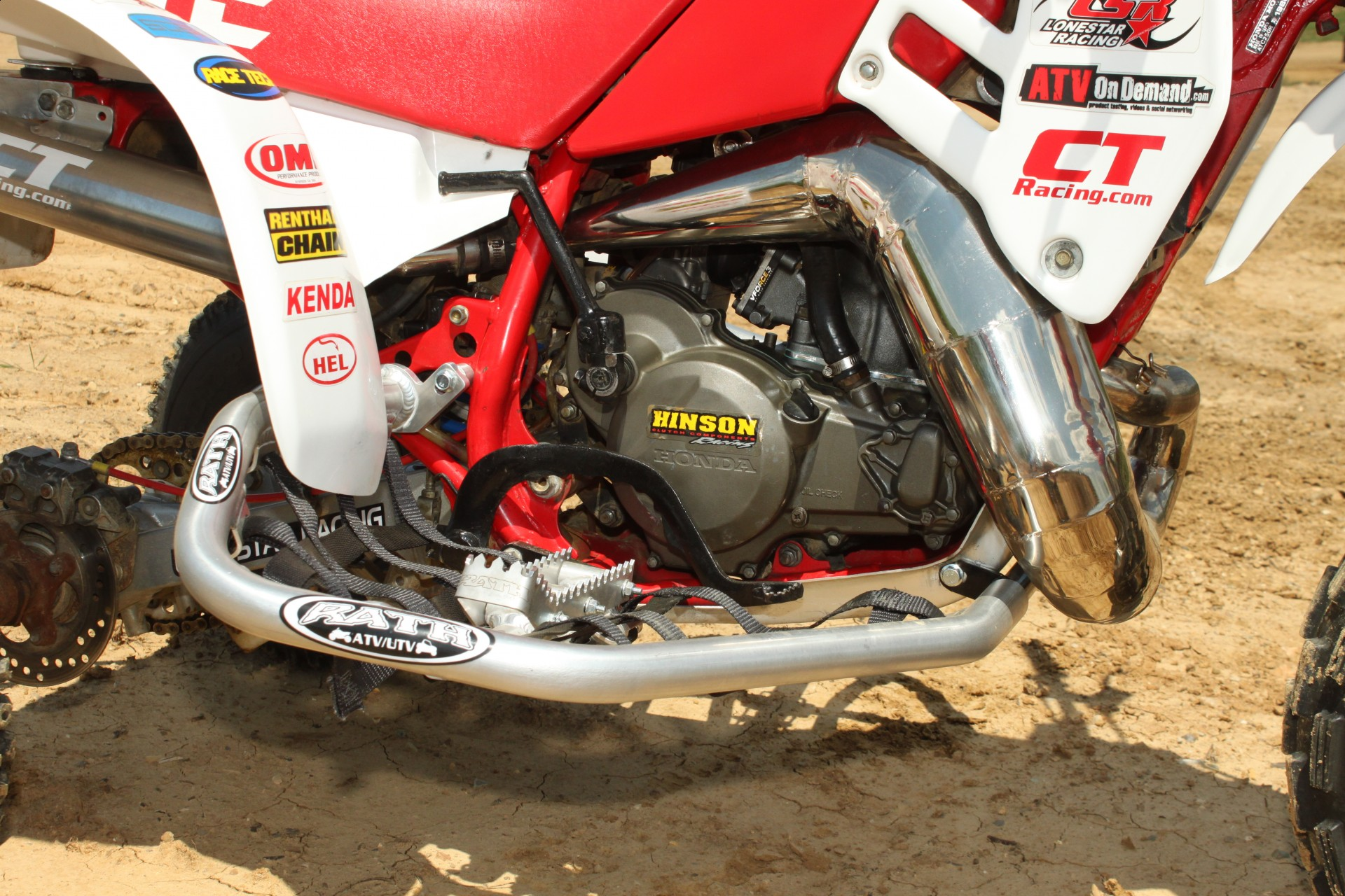1985 1986 Honda ATC250R Motocross Project, Part 2: WITH VIDEO