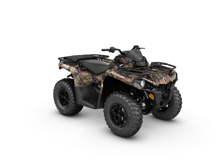 2016 Can Am Renegade 570 Outlander L Mossy Oak Country Camo First Look