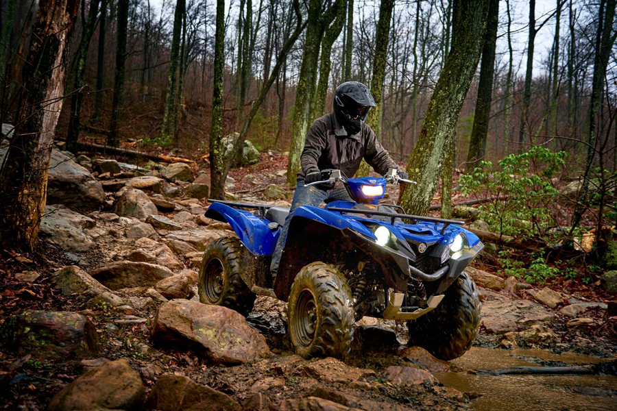 2016 updated yamaha grizzly 700 new kodiak 700 first look for 2016 yamaha grizzly 450