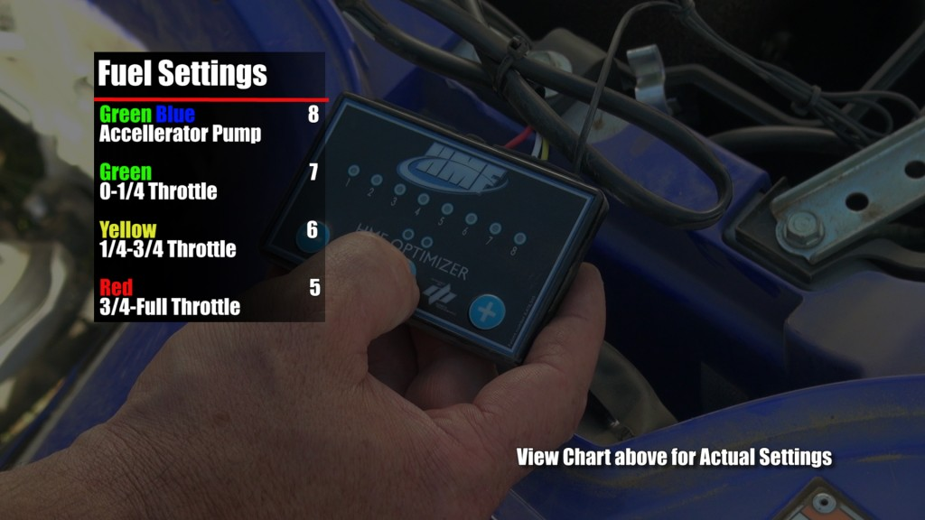hmf_yfz450r_competition_series_exhaust_test_fuel_optimizer_settings