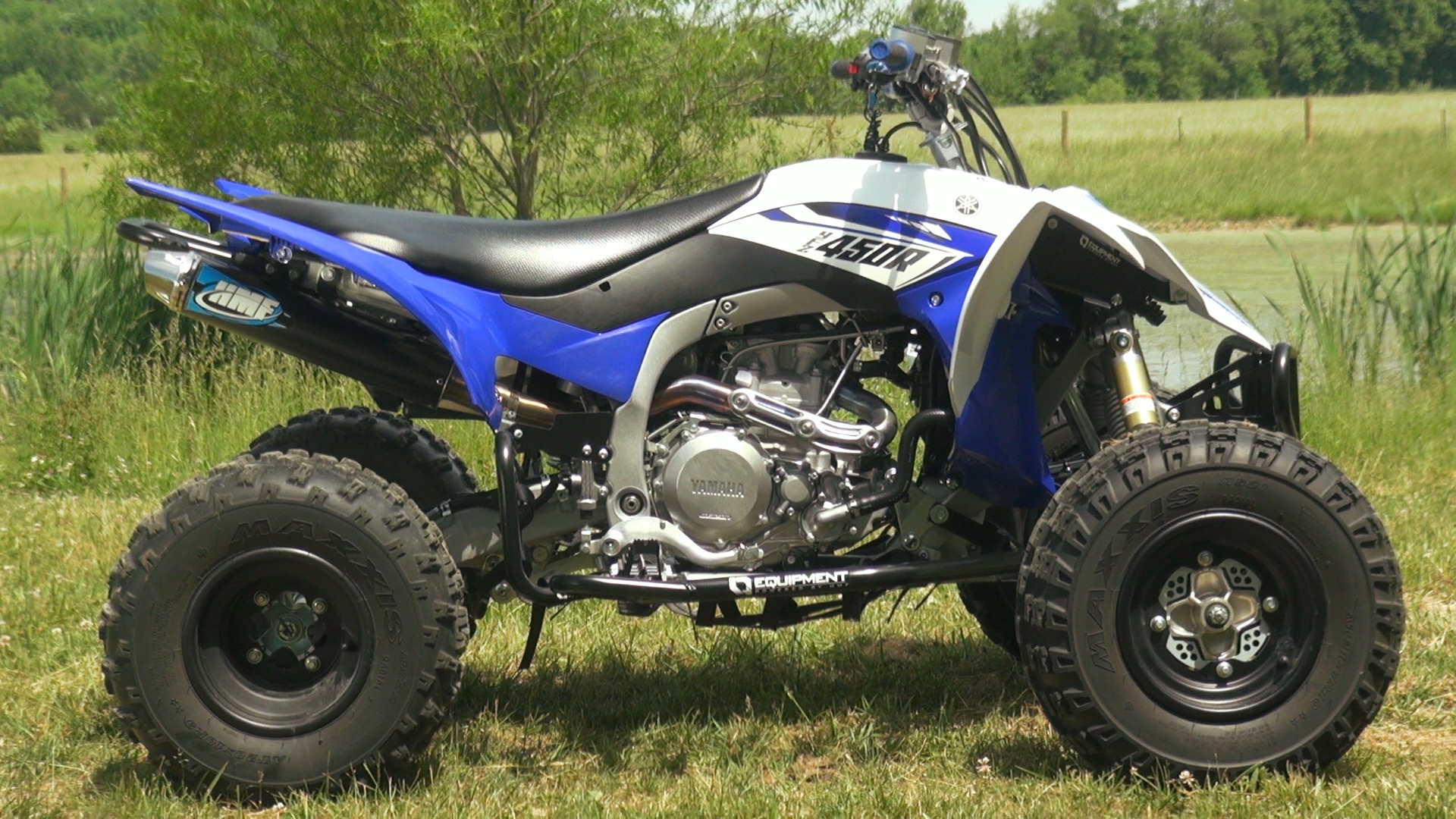 HMF, YFZ450R, Competition Series Exhaust and Fuel Optimizer