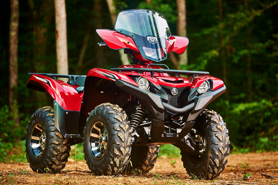 2016 yamaha grizzly 700 eps first test with video