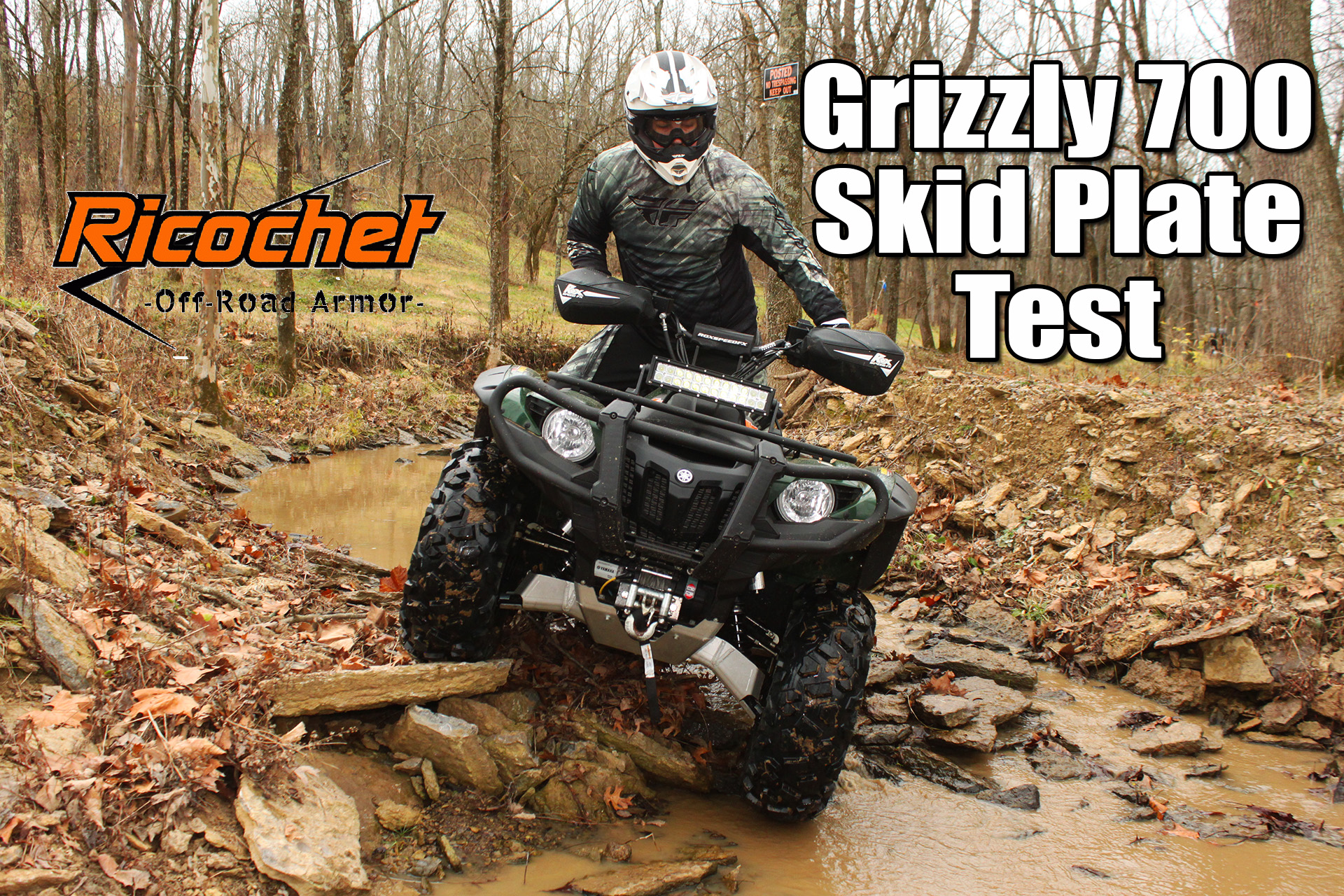 Yamaha Grizzly Skid Plate