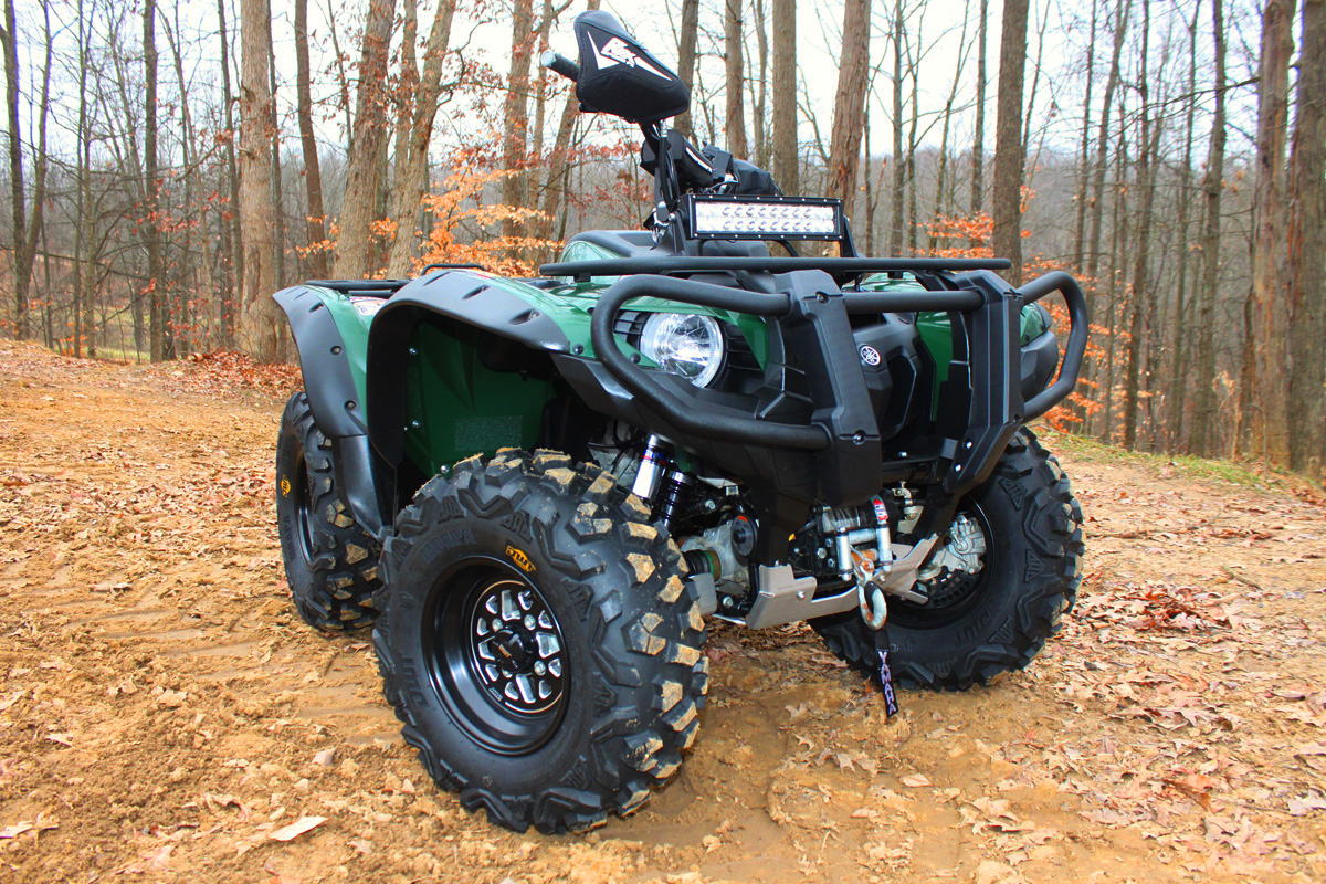 Yamaha Grizzly  Tires Size