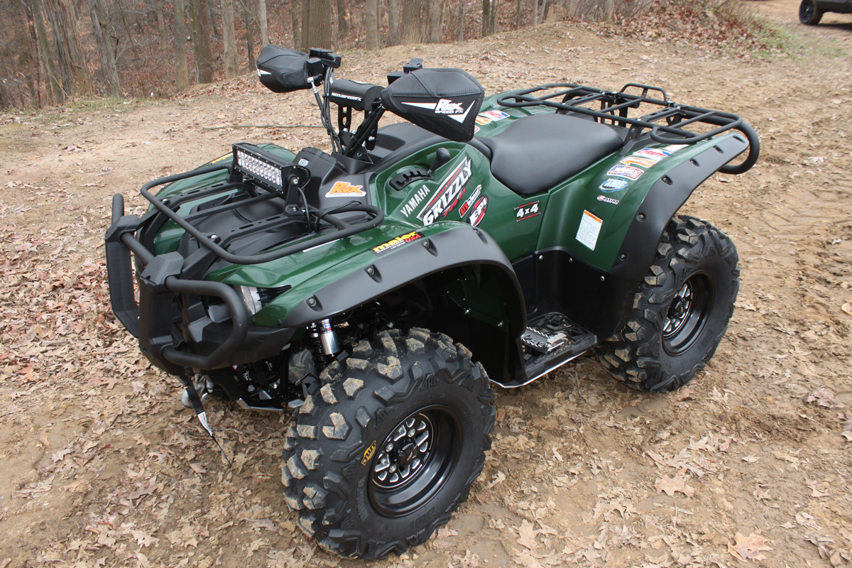 Yamaha Grizzly 450 >> » Yamaha Grizzly 700 and 550 Upgrade Project