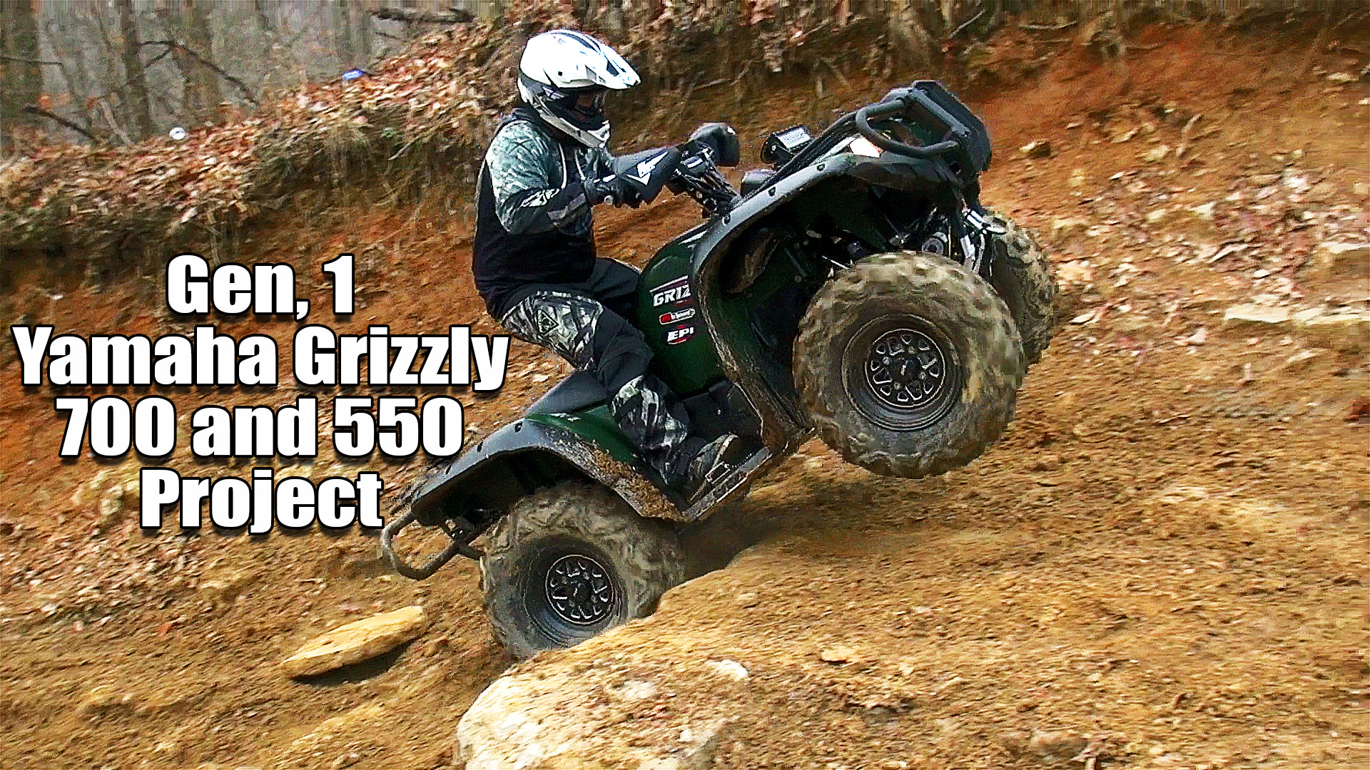 Yamaha Grizzly Tires Upgrade