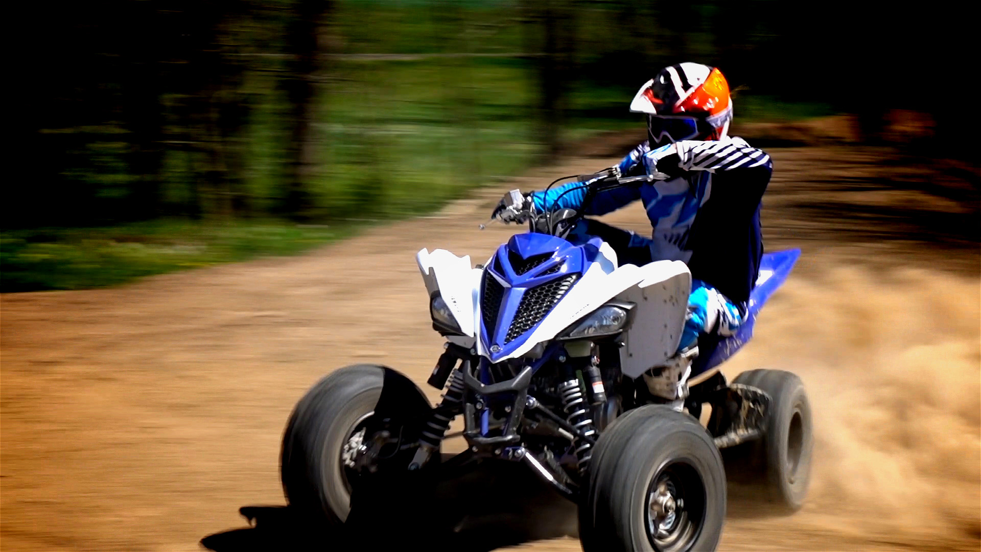 Yamaha raptor 700r trail and track test review with video for Yamaha 700r raptor
