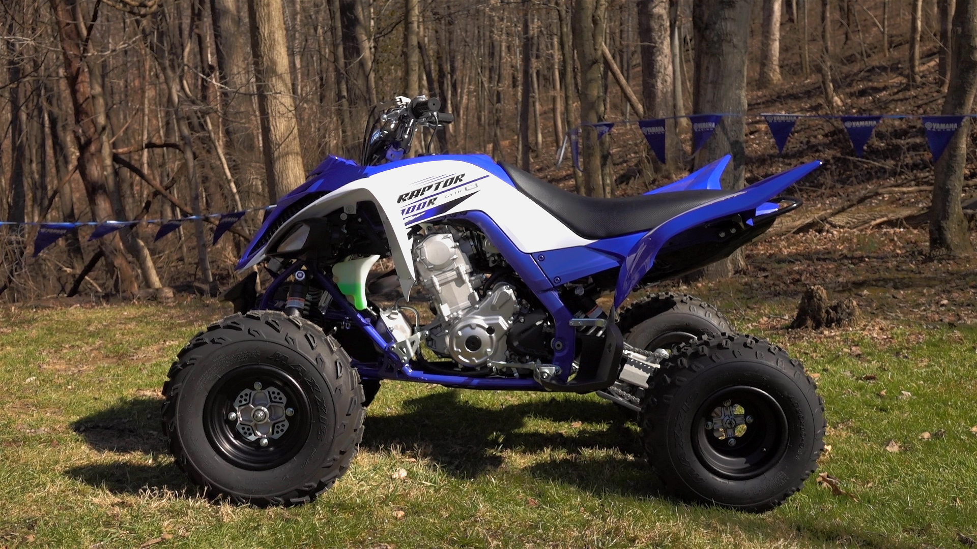 Yamaha Raptor 700R Trail and Track Test Review: WITH VIDEO