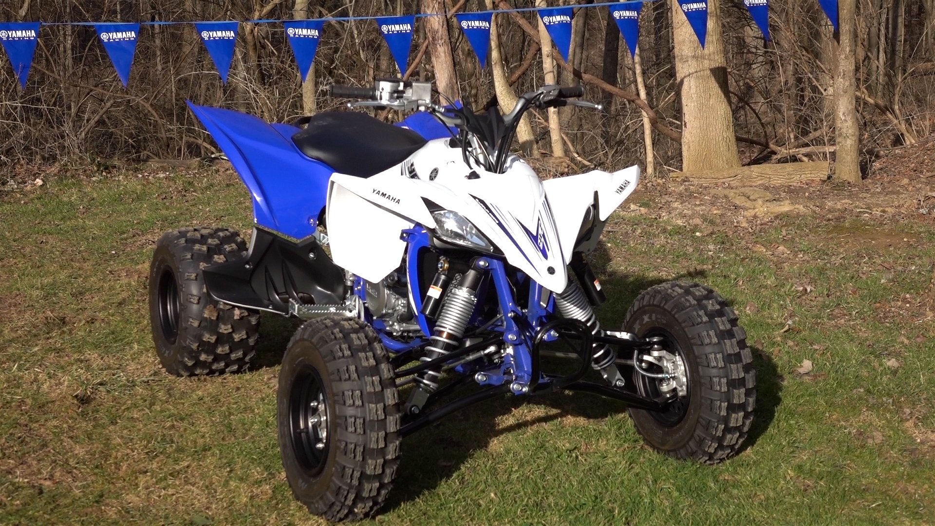 2016 yamaha yfz450r track and trail test with video. Black Bedroom Furniture Sets. Home Design Ideas