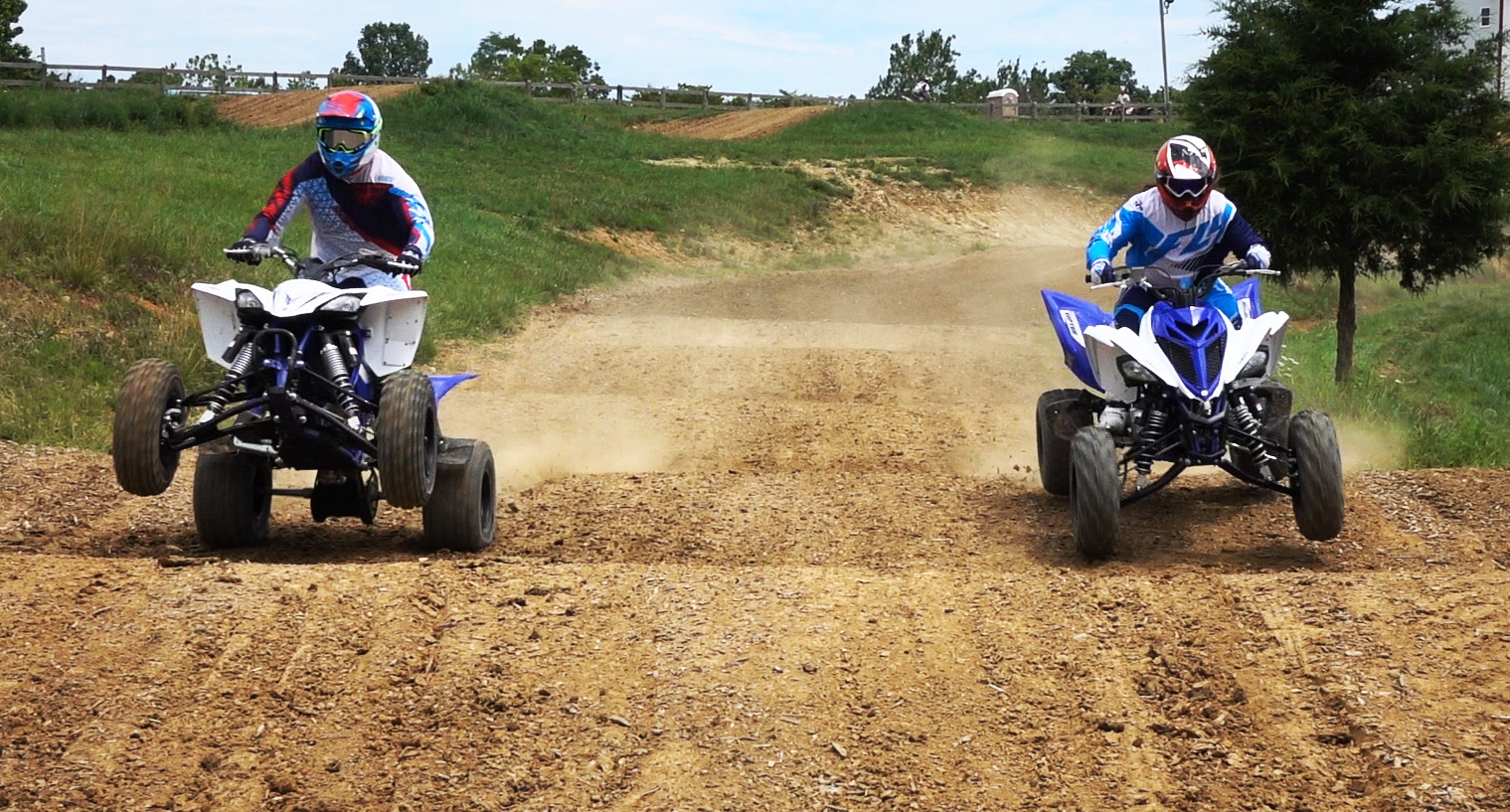 Yamaha Raptor YFZ450R VS Raptor 700R Shootout: WITH VIDEO