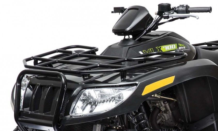 "The VLX appears to be well appointed for hard work. It features a 2"" hitch receiver, allowing most users to take the hitch from their truck to their ATV.  Tubular steel racks, in our opinion, still set the standard for getting work done. The VLX racks are rated at 100 pounds front and 200 pounds rear.3"
