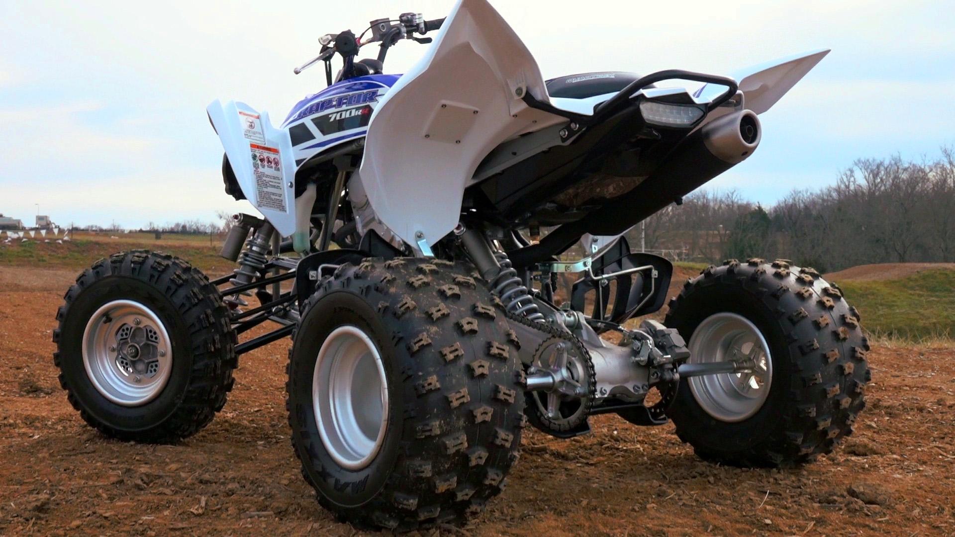 Prototype Yamaha Raptor 700R: Test