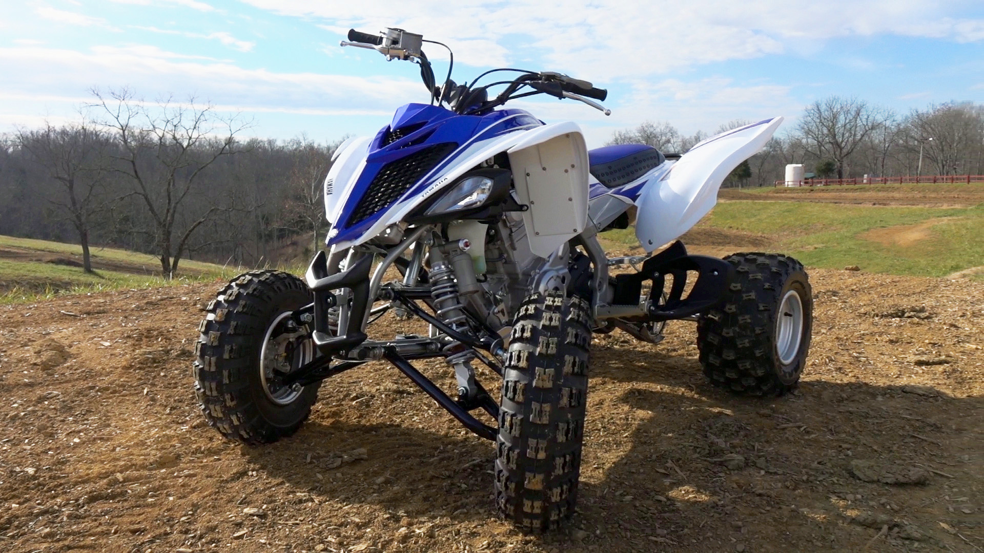Prototype Yamaha Raptor 700R: Test