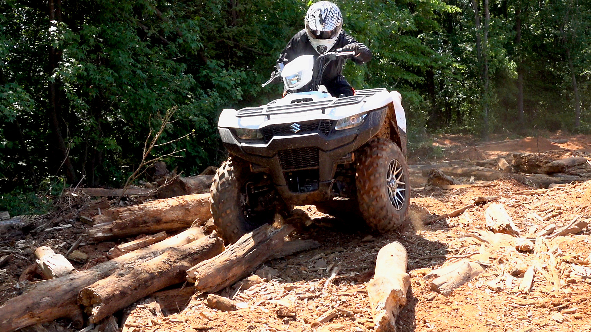 2019 Suzuki KinQuad 750 Test Review: WITH VIDEO