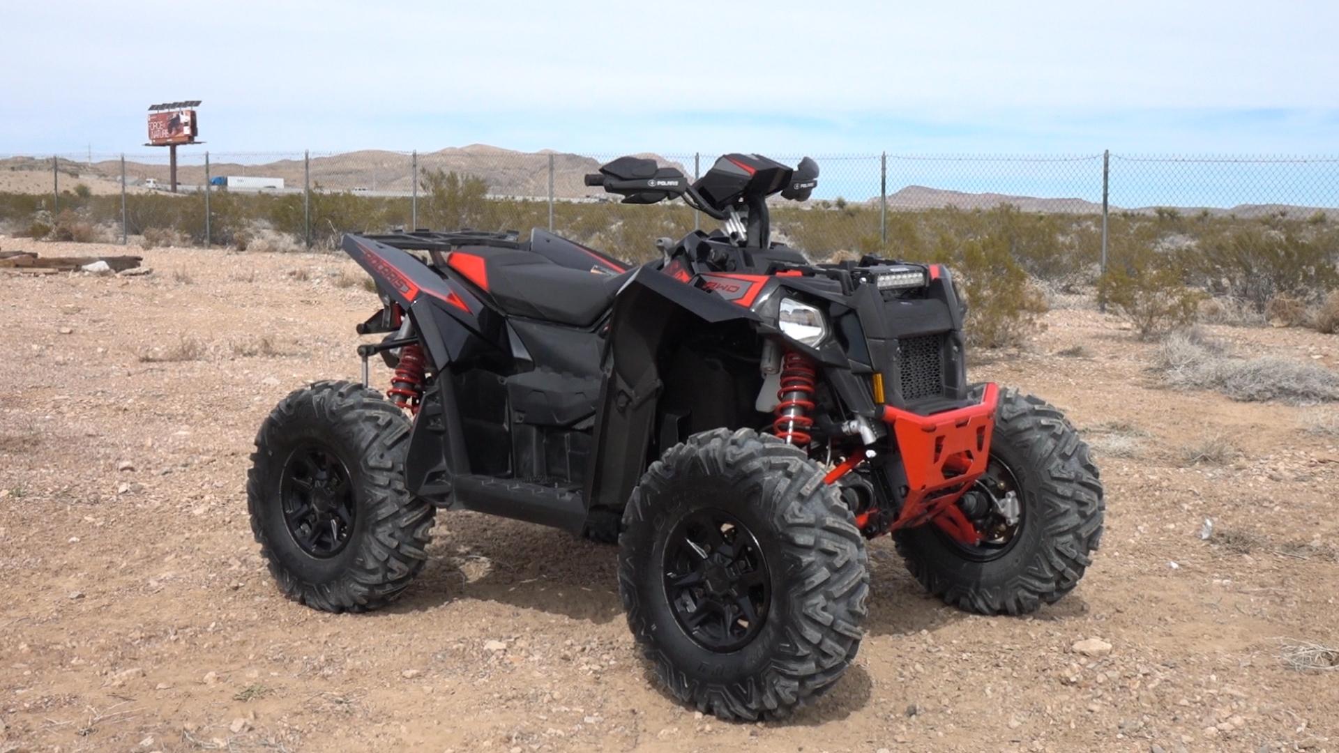 NEW POLARIS SPORTSMAN SCRAMBLER ATV A ARM CV JOINT PROTECTORS STEEL CONSTRUCTION